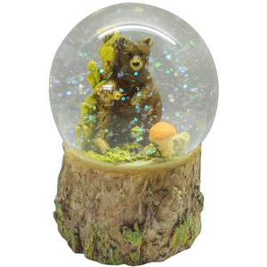 Bear water ball bear snow globe polyresin gifts