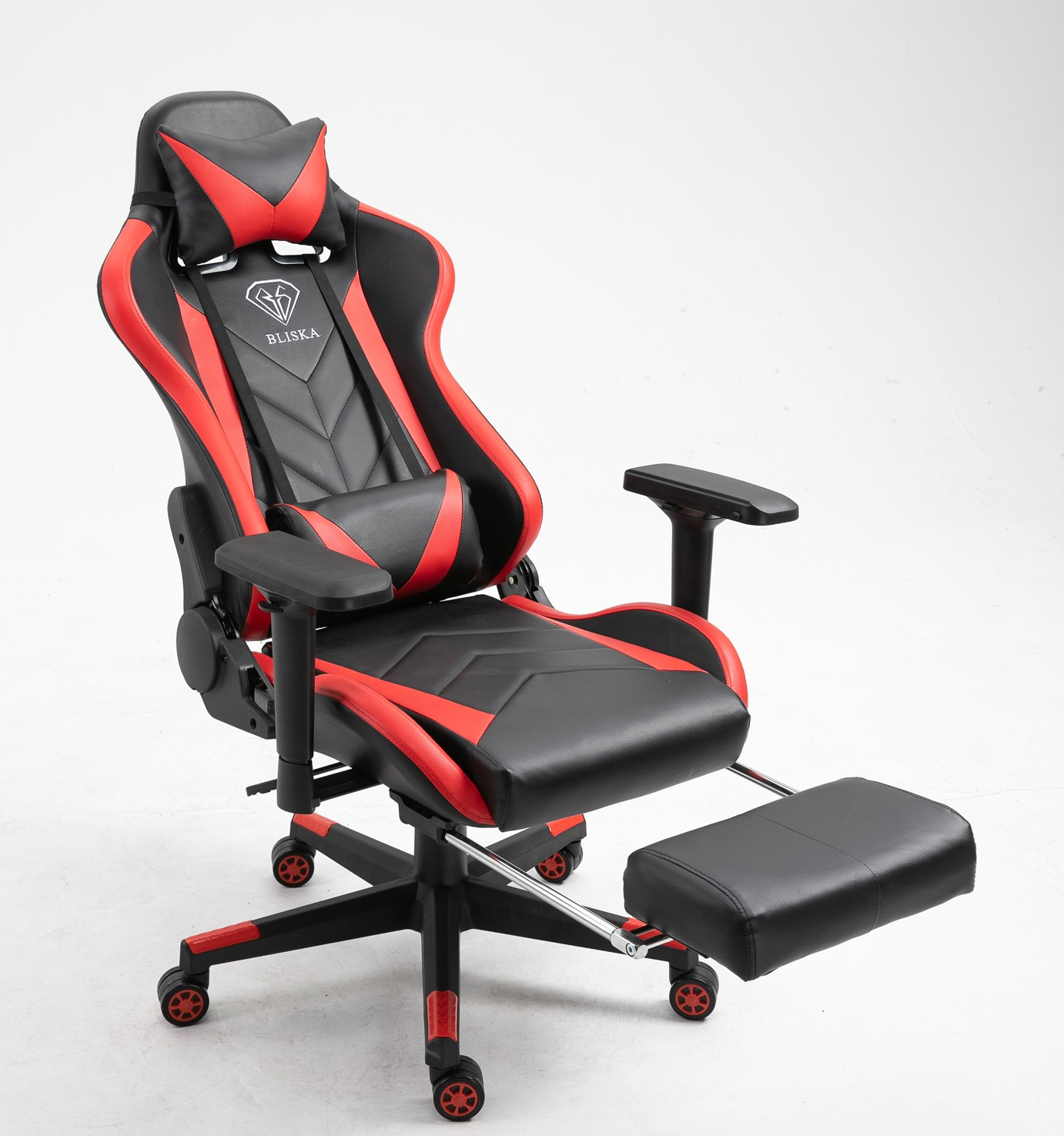Best Seller PU Leather Gaming Racing Chair Reclining Laying down Chair with Footrest Nice Prices