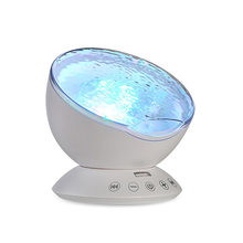 Проектор Drop океанская звезда Galaxy, светодиодный ночник, музыкальная Ночная лампа для детей, декор для спальни, с usb-пультом дистанционного уп...(Китай)