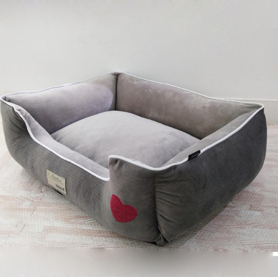 Grosir Kustom Mewah hewan peliharaan anjing tempat tidur Untuk Kucing Anjing Hewan Peliharaan