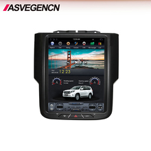 Tesla Verticale Android Autoradio Touch Screen Stereo Audio Video Gps Multimedia Bt 4g Wifi Per Dodge Ram