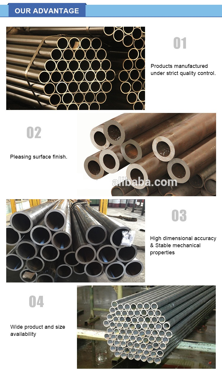 DIN 2391 St45 24 high precision seamless carbon steel tube