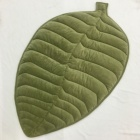 High Quality INS Hot Palm Leaf Shape Baby Padded Baby Play Floor Mat