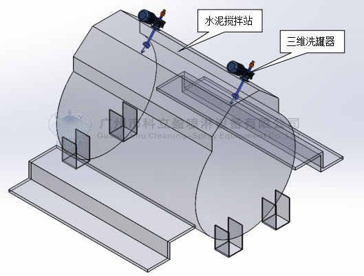 Motor drive high pressure rotary jet head for strong tank