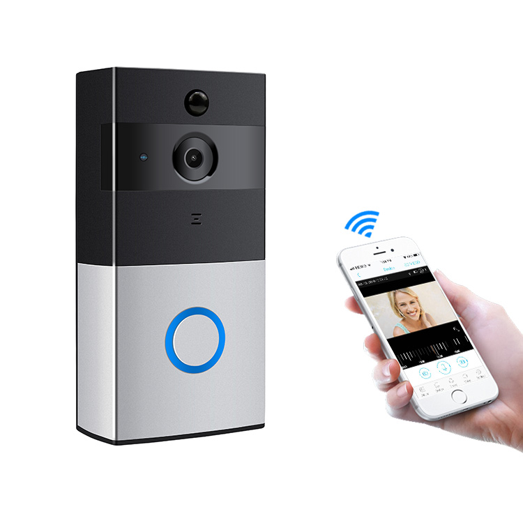 Nieuwe Home Security 2.4G WiFi Draadloze Video Deurbel 2019 Intercom Systeem