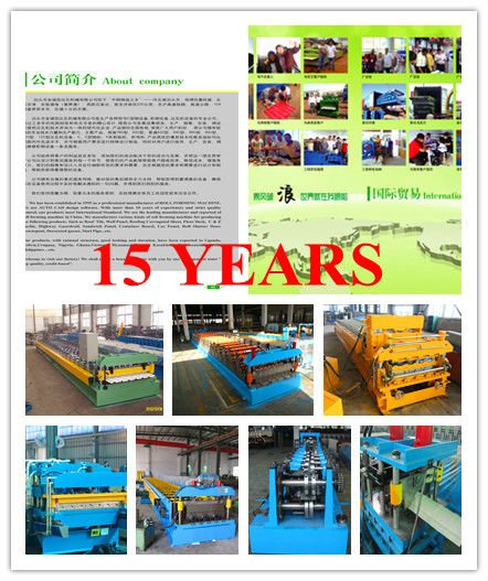 Botou round shape water downspout pipe elbow rolling forming machine made in china