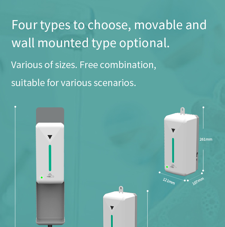 Automatic touchless hand sanitizer gel dispenser