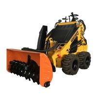 best cheap small snow blower for mini skid steer loader