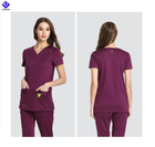 2020 Popular Designs Unisex Nurse Top and Pants Scrub Uniform for Hospitals