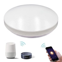 Hot selling 24W 1800lm dimmable high quality wifi speaker ceiling light sound system led smart ceiling