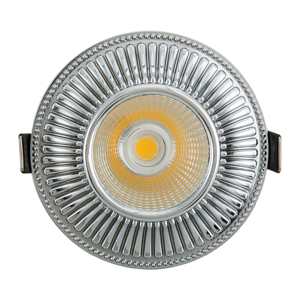 Berdis high end anti corrosion aluminum TUV led downlight COB ceiling light classical down light for residential