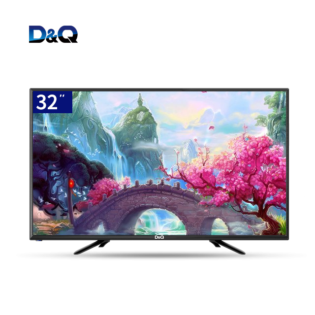 China DQ Manufacturer- HD Digital big screen 32'' television , not tempered glass 4k televisor,smart led <strong>tv</strong> 32 inch