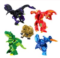 Hot Deformation Animal Action Toy Figures Diameter 35mm Capsule battle planet No Repeat Free Cards for Gift Dragon Dinosaur Toys