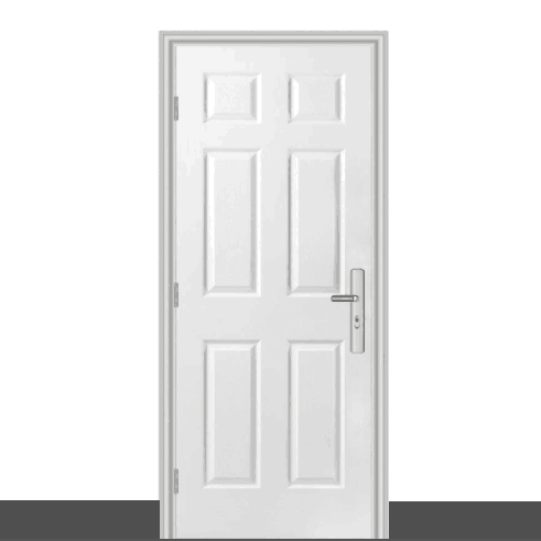 Cheap Price White Color Steel <strong>Door</strong>