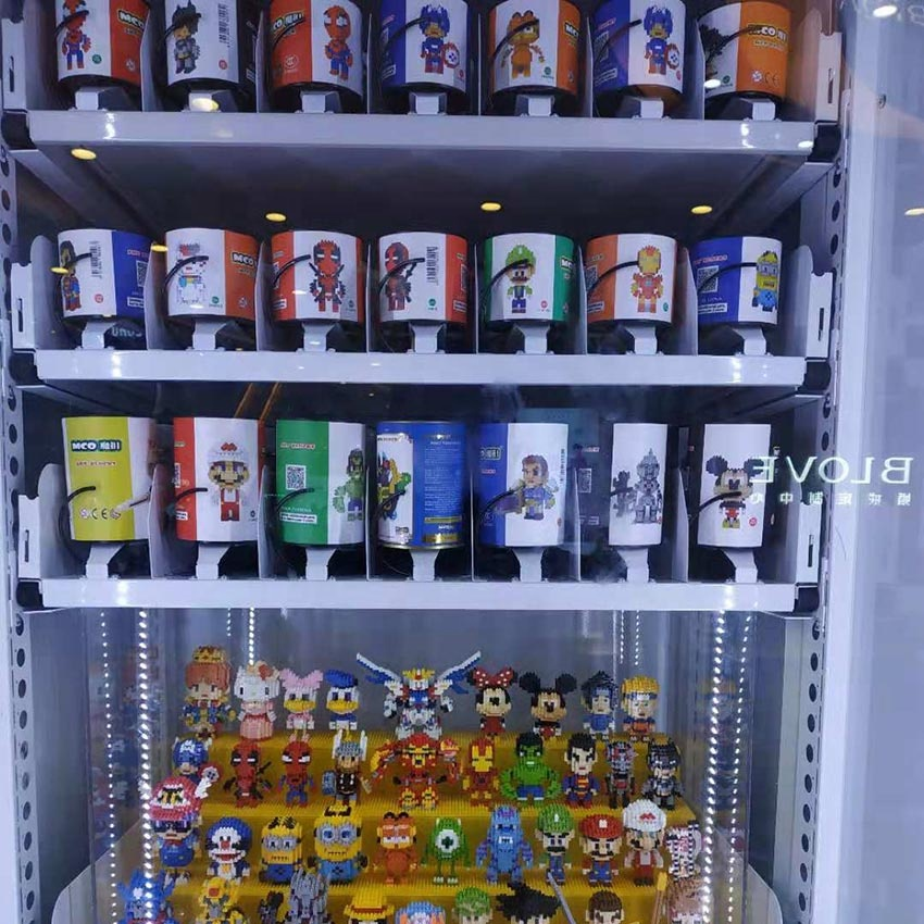 vending machine for medical and beauty products without cooling system