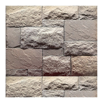 white 3d stone wall exterior manufactured solid cast stone cladding castle rock interior wall tv backdrop decorative stone