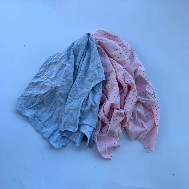 Oem Accept Bleaching Textile Cotton Waste Rags For Machine Wiping