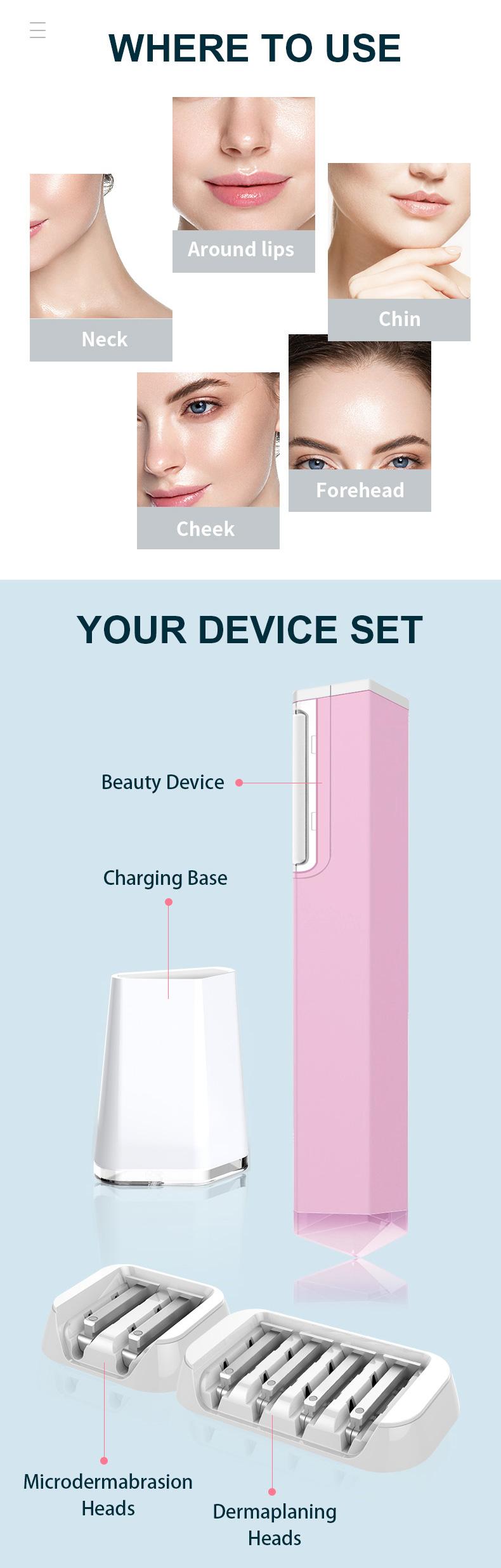 2020 nieuwe schoonheid product vrouwen licht verwijdering machine gezicht haar trimmer