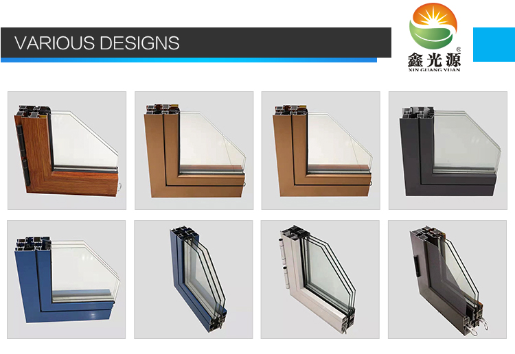 Most popular thermal break double glazed aluminium casement window wholesales for Awning Windows