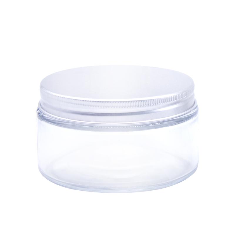50G 50Ml Milchglas Kosmetische Creme Jar Mit Aluminium Deckel