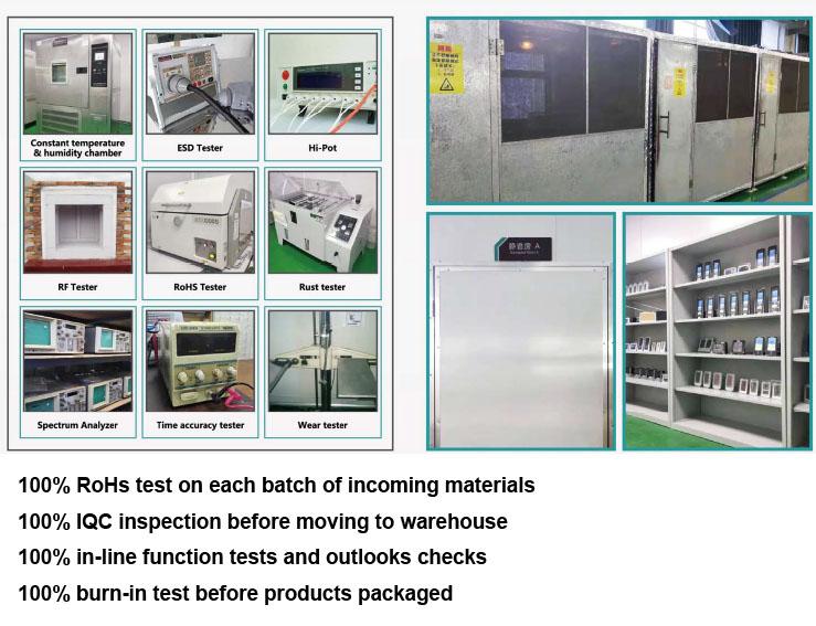 متعددة الوظائف الرقمية LCD درجة الحرارة و شاشة عرض الرطوبة المنبه ساعات الحائط RCC/DCF داخلي