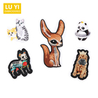 Delicate cute animal embroidered cloth fashion children's clothes patch patch patch embroidery seal hole decorative paste