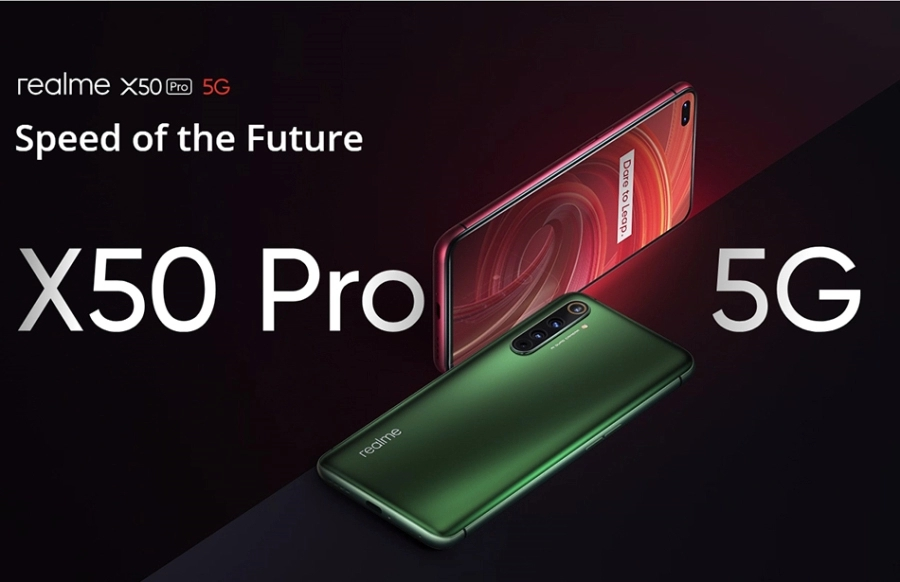 2020 New Product 5G Realme X50 Pro 8GB 128GB Mobile Phone Smartphones