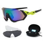 DLS9317set Polarized Sunglasses 3 PCs Set Outdoor Glasses Riding Sports Glasses Bicycle Windproof Sunglasses