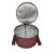 Custom Logo Reusable Soft Thermal Camping Portable Insulated Pie Cake Barrel Round Cooler Tote Bag