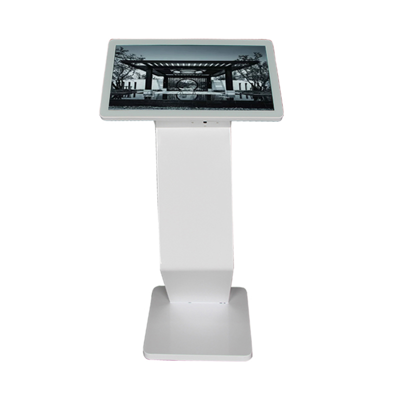 Indoor Information kiosk Checking Sensitive Multi Digital Android Touch Screen Version <strong>22</strong> inch display floorstand kiosk