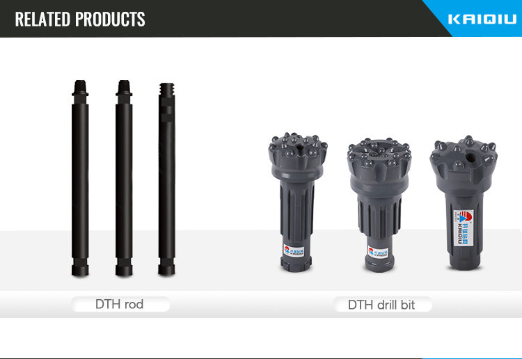 Water well deep hole kit drill ql 50m dth hammer QL50