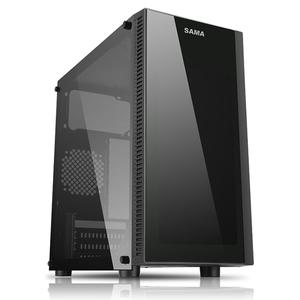 SAMA Bud Game Chassis (U3, Dual SSD, Extra Long Graphics, ATX, Power Bracket,