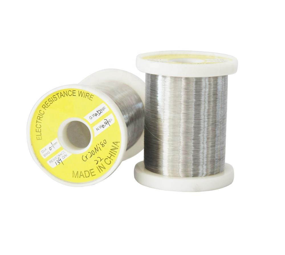 Factory Price High Temperature Cr20Ni80 electric heating nichrome resistance <strong>wire</strong>