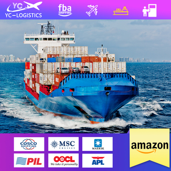 Sea freight cargo container shipping agent from China to London dropshipping service to uk amazon fba