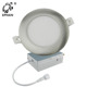 Brushed Nickel ETL Listed Long Life 4 Inch Ultra Slim LED Panel Light