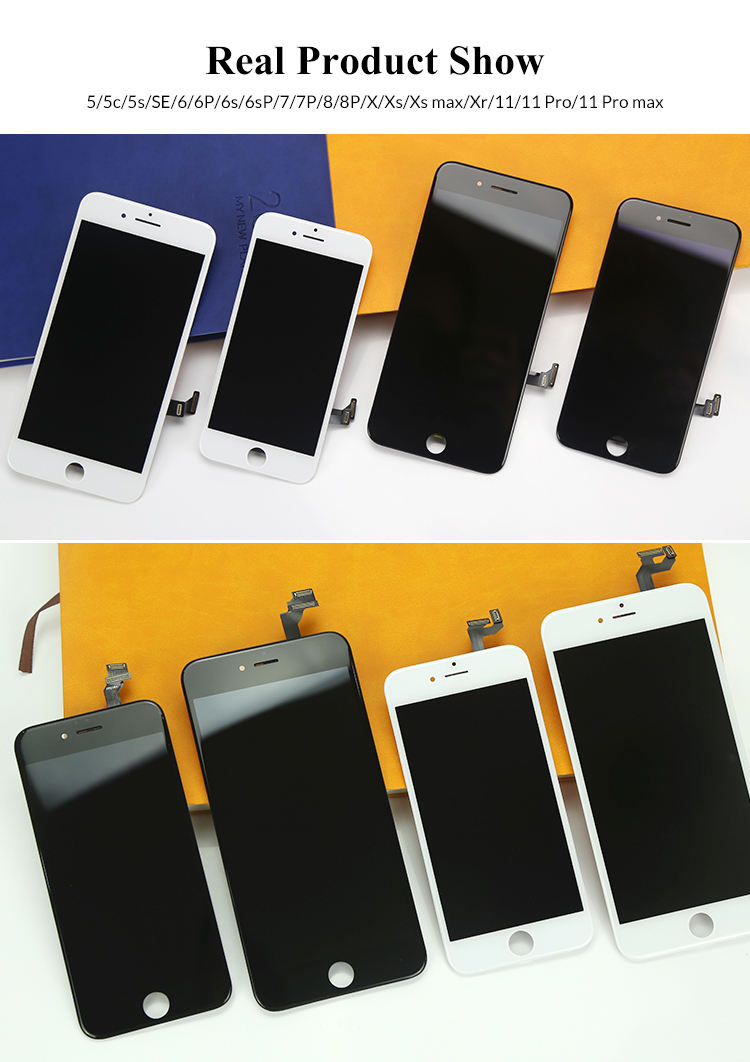 Tela AAA para apple iphone lcd shenzhen fabricante para iphone 6 7 8 X display lcd