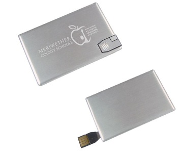 Credit Metal Card USB Memory Stick With Custom Logo Memory Stick Business Card