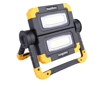 Supfire 20W LED work lights 2000lm outdoor waterproof light for car repair usb rechargeable portable COB led work light