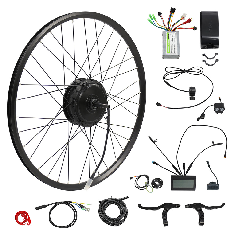 250W Ebike Conversion Motor Wheel Kit 26 29 Electric Bicycle With Battery 36V