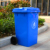 Outdoor dustbin garbage can plastic dust bin with wheel
