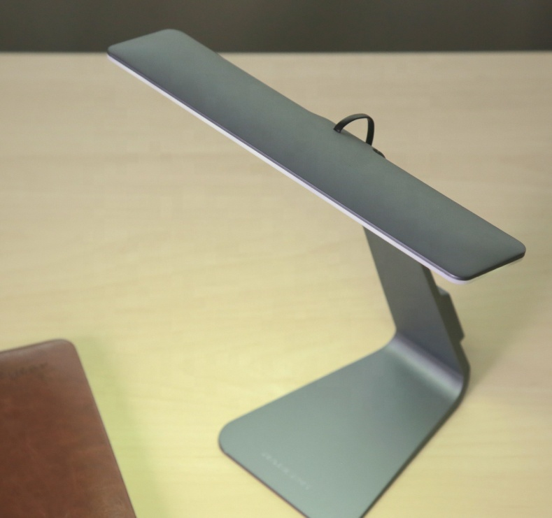 Manufacturer dimmable table lamp eye protection office rechargeable led desk lamp
