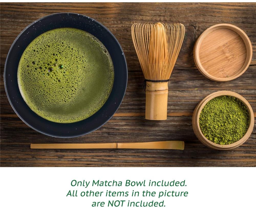 Verde Matcha de bambú tazón de té conjunto hecho a mano japonés tradicional ceremonia de uso diario con bambú chasen