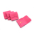 Pink Embossed Printed Microfiber Gift Jewelry Packaging Bag Small Envelop Flat Jewelry Pouches