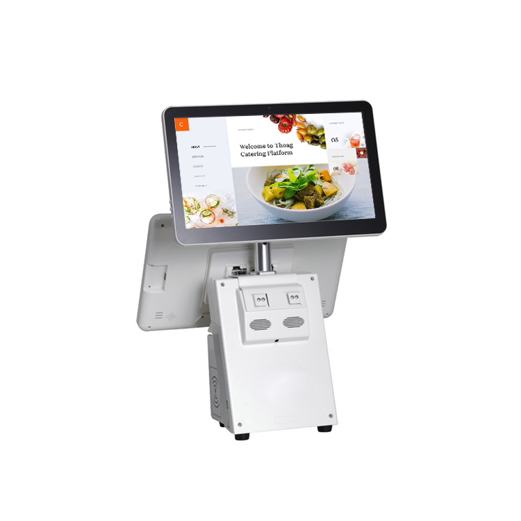 15.6 inch Windows O/S LCD Restaurant Touch Screen Retail POS System HKS10-AW