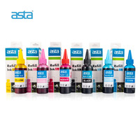 ASTA Brand Factory Wholesale Compatible Color Pigment Refill Bulk Sublimation Dye Ink For Epson Canon HP Brother Inkjet Printer