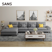 Groothandel Moderne Sectionele <span class=keywords><strong>Woonkamer</strong></span> Sofa Set Met Chaise Lounge