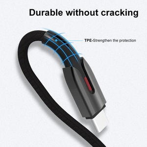 QIHANG 18w Type-c Usb Charging Charger 5a 3a Nylon Braided Tipe Type C Pd Cable for iphone 11