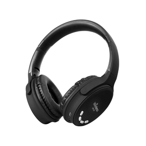 Feinier LBS-50 Noise isolation over-ear headband wireless headphone, stereo headset hands free with TF and FM