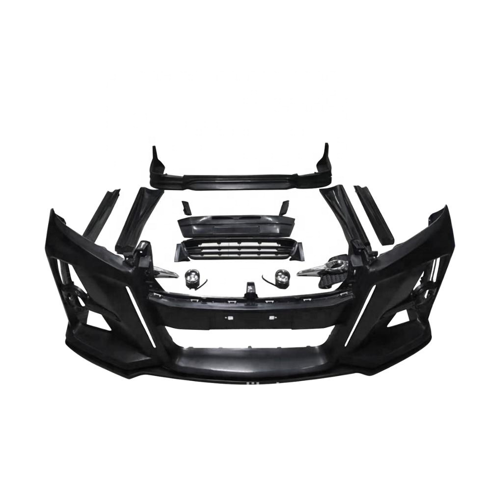High Quality New WALD Alhard Body Kit for Toyota Alphard Accessories Parts 2010-2014