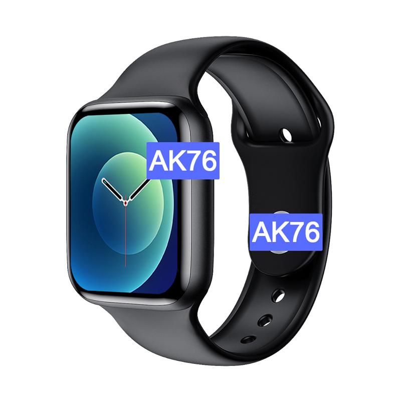 2021 AK76pro Smartwatch iwo 13 Series 6 reloj inteligente Android fitness traker watch smart bracelet Smart Watch ak76 pro, Black, silver, rose gold, blue, red